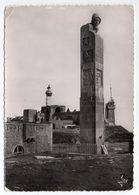 PLOUGONVELIN--1955--Pointe St Mathieu --Monument Des Marins Morts Pour La France-buste De Veuve En Prière-cachet - Plougonvelin