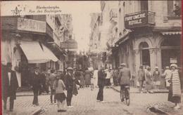 Blankenberge Blankenberghe Rue Des Boulangers Geanimeerd (In Zeer Goede Staat) - Blankenberge
