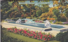 New York Saratoga Springs Congress Park Fountain - Saratoga Springs
