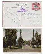 Uganda Tanganyjka City Park Narobi Kenya 1939 PASSED BY CENSOR Obliteration (In Very Good Condition) - Kenya (1963-...)