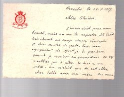 1937 8e Regiment De Ligne Beverloo > Leopoldsburg > Anderlegt Salomon (157) - Belgien