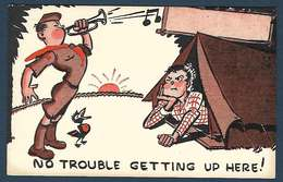 Boy Scouts Of America - 1947 - No Trouble Geting Up Here! - Scoutisme