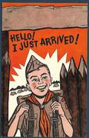 Boy Scouts Of America - 1956 - Hello! I Justg Arrived! - Scoutisme