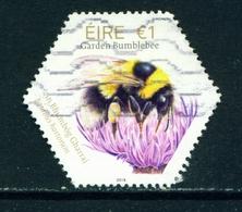 IRELAND - 2018 Bees 1 Euro  Used As Scan - 1949-... Republic Of Ireland