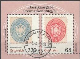 Österreich Mi Block 98 Jahr 2018 Gestempelt - Blocks & Kleinbögen