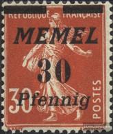 Memelgebiet 59 Unmounted Mint / Never Hinged 1922 Print Edition - Memelgebiet