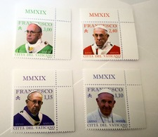 VATICAN 2019, PONTIFICATE OF POPE FRANCIS 2019 , COMPLETE SET MNH** - Ungebraucht