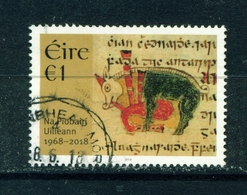 IRELAND - 2018 Na Piobairi Uilleann 1 Euro  Used As Scan - 1949-... République D'Irlande