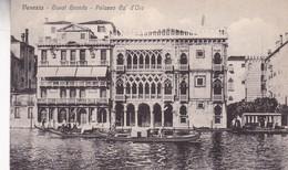 VENEZIA. CANAL GRANDE, PALAZZO CA' D'ORO. CIRCA 1900s. NON CIRCULEE - BLEUP - Venezia (Venice)