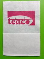 Servilleta,serviette .cafés Tenco,Portugal - Serviettes Publicitaires