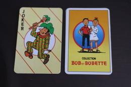 Playing Cards / Carte A Jouer / 1 Dos De Cartes Avec Publicité / Joker - The World Joker .- Cllection Bob Et Bobette - Autres