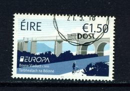 IRELAND - 2018 Europa 1.50 Euro  Used As Scan - Used Stamps