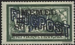 Memelgebiet 42b Con Fold 1921 Airmail - Memelgebiet