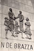 REPUBLIQUE DU CONGO BRAZZAVILLE MONUMENT DEA SAVORGNAN DE BRAZZA CARTE PHOTO - Brazzaville