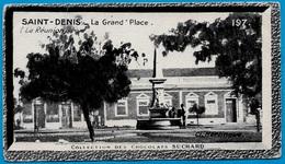 """IMAGE - St SAINT-DENIS - La Grand'Place (974 La Réunion) °  Chocolat Suchard """"Collection Coloniale"""" * - Suchard"""