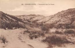 KNOCKE-ZOUTE - Promenade Dans Les Dunes - Knokke