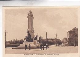 PIACENZA. MONUMENTO AL PONTIERE D'ITALIA. L.CAMISA. CIRCA 1930s NON CIRCULEE - BLEUP - Piacenza