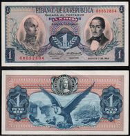 COLOMBIA - 1962 - UN PESO ORO ( $ 1 ) - UNCIRCULATED. CONDITION 9/10 - Colombie