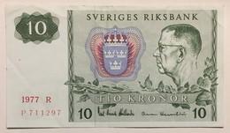 Sveriges Riksbank - Tio Kronor - 1977 - Suède