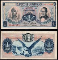 COLOMBIA - 1977 - UN PESO ORO ( $ 1 ) - UNCIRCULATED. CONDITION 9/10 - Colombie