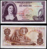 COLOMBIA - 1977 - DOS PESOS ORO ( $ 2 ) - UNCIRCULATED. CONDITION 9/10 - Colombie