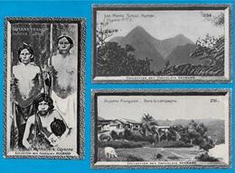 """IMAGE - GUYANE Française (Lot De 3) °  Chocolat Suchard """"Collection Coloniale"""" * 973 - Suchard"""