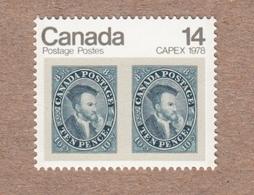 Jacques Cartier - Canada 1978 MNH #754 - Engraved - 1952-.... Règne D'Elizabeth II