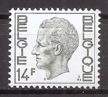 BELGIE * Nr 1823 * Postfris Xx * WIT PAPIER - 1970-1980 Elström