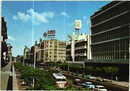 MOZAMBIQUE - Lourenco Marques  - Avenida Da Republica Bus Coach Cars - Moçambique - Mozambique