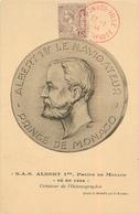 1951  Postmark On S.A.S. Albert 1st, Prince De Monaco Ne En 1848 Maximum Card - Maximum Cards