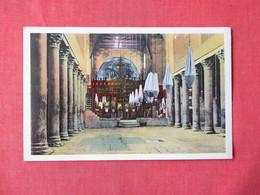 Bethlehem Interior Church Of The Nativity      Ref 3160 - Israel