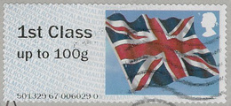 GB 2012 Flag Post And Go 1st Good/fine Used Code 501329 [32/180/ND] - Great Britain