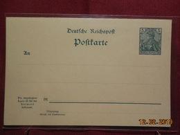 Entier Postal D Alllemagne Avec Reponse Payee - Allemagne