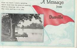 """A Message From Danville, Quebec """"From My Heart I Send A Greeting .  .  .  .  ."""" - Quebec"""