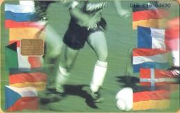 Gibraltar - GIB-C-19, European Football Cup, Soccer, 5000ex, 2000, Used As Scan - Gibraltar