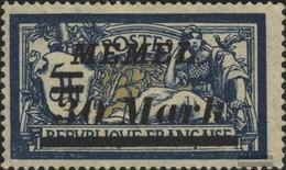 Memelgebiet 96 Con Fold 1922 Stampa Edizione - Memelgebiet