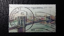 Sondermarke Aus Deutschland Mit Darstellung Der Brooklyn Bridge - Brücken