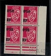 ALGERIE             N° YVERT  Coin Daté 247 - Algérie (1924-1962)