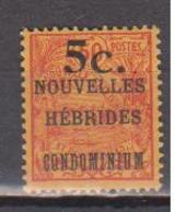 NOUVELLES HEBRIDES        N°  YVERT  :   58    NEUF AVEC  CHARNIERES      ( Ch 1/12  ) - Légende Française