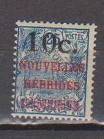 NOUVELLES HEBRIDES        N°  YVERT  :   59    NEUF AVEC  CHARNIERES      ( Ch 1/12  ) - Légende Française