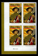 USA, 2018, 5300,World War I, Turning The Tide, PB, LL, Forever, MNH, VF - Unused Stamps
