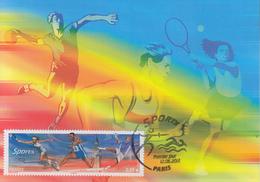Carte  Maximum  1er  Jour    FRANCE     SPORTS    2012 - 2010-...