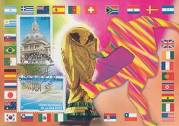 Carte  Maximum  1er  Jour  FRANCE  Coupe  Du   Monde  De  Football    2010 - 2010-...
