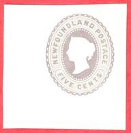 Canada Newfoundland # U2 Mint H VF- Queen Victoria - 5 Cents - Newfoundland