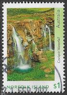 Norfolk Island 2017 Waterfalls $1 Good/fine Used [39/31939/ND] - Norfolk Island
