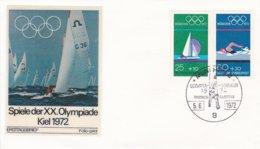 Germany FDC 1972 Olympic Games In München - München (DD23-14) - Estate 1972: Monaco
