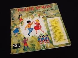 Vinyle 33 Tours (25cm) Paulette Rollin Chante Pour Les Enfants Volume 2 - Kinderlieder