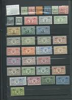 NOUVELLES HEBRIDES, Colonie Franco - Anglaise. Lot Sur 3 Pages, Cote 630 €. - Timbres