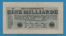 DEUTSCHES REICH 1 Milliarde Mark 20.10.1923Série # AR  KM# 122 - 1918-1933: Weimarer Republik