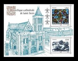 Frankreich / France: 'Basilique De Saint Denis, 2015', Mi. BL 283; Yv. F4930 [4930-4931]; Sc. 4776 * - France
